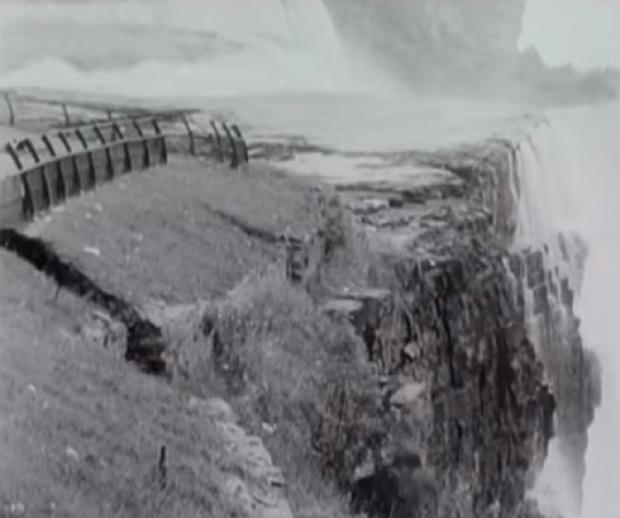 Niagara szikla omlás 1954