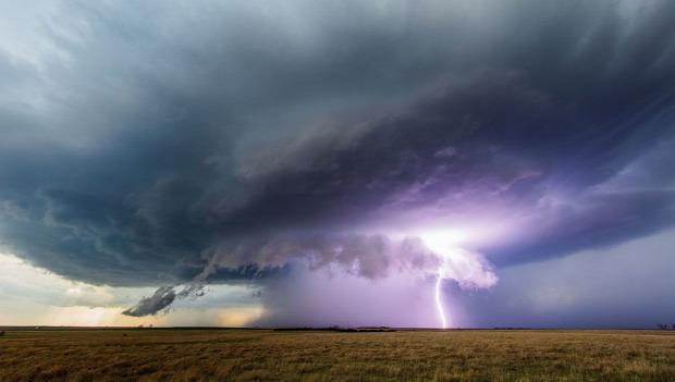 ég vihar örvénylés time lapse