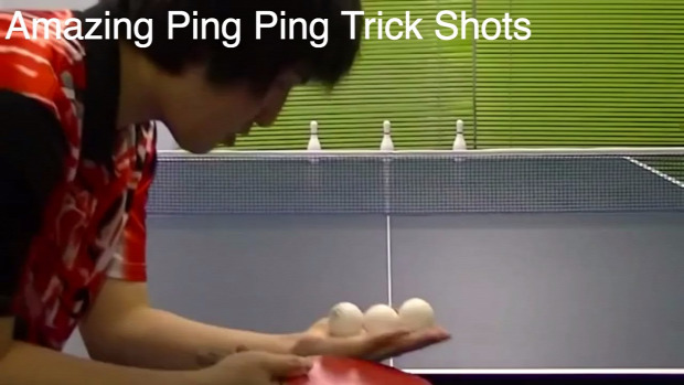 ping pong trükk
