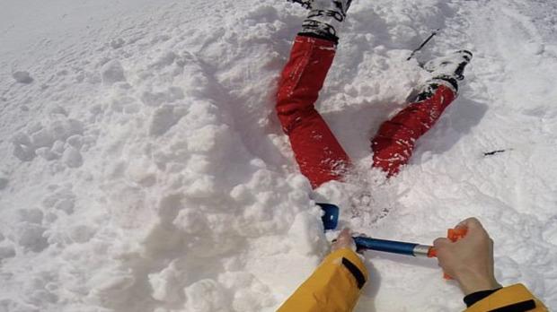 sielő baleset hó