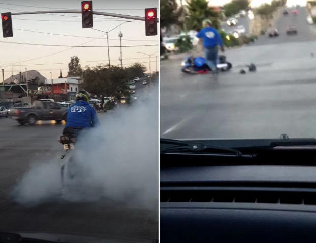 motor motoros baleset
