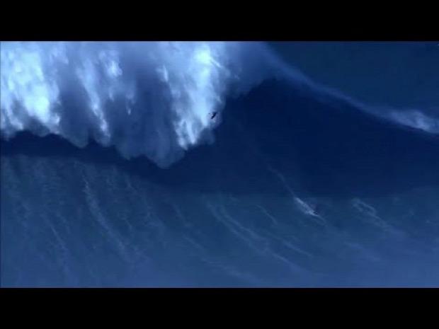világrekord szörf hullám óriás