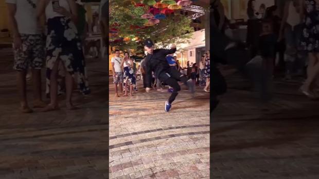 táncos láb