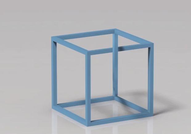 Esher kocka 3D