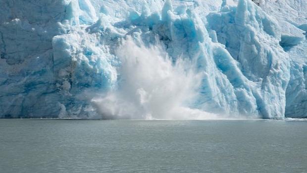 jég gleccser omlik omlás