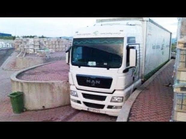 kamion sofőr profi