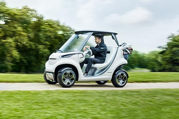Golf kocsi Mercedes Benz