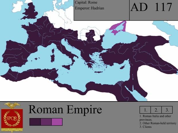 Róma terület birodalom