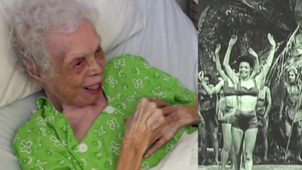 táncosnő 102 éves film először