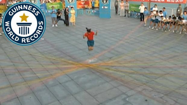 rekord Guinness ugrókötél