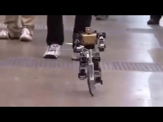 bringa kerékpár bicikli robot