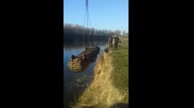 folyó horgász autó hal