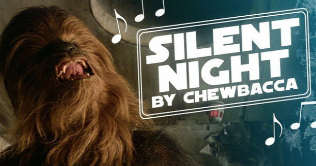 karácsony Csendes éj Csubakka SW Star Wars