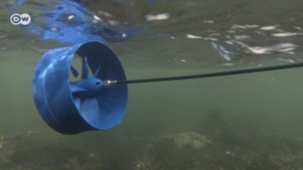 víz  erőmű mini kempung