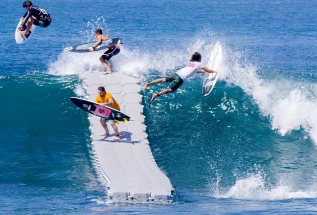 szörf dokk lebeg