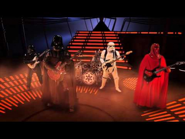 Star Wars SW zene birodalmi induló rock Darth Vader