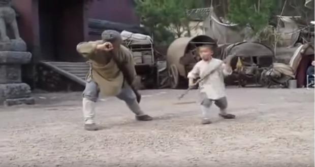 Jackie Chan film forgatás tanul shaolin szerzetes