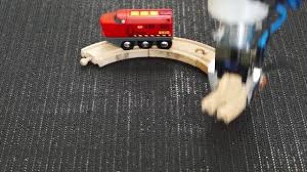 robot kar játékvonat