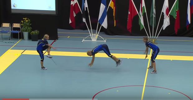 ugrálókötél verseny svéd csapat világbajnokság