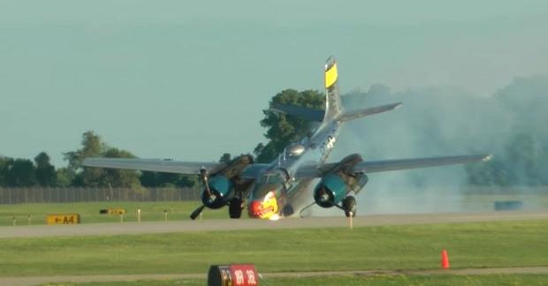 baleset repülő légi bemutató