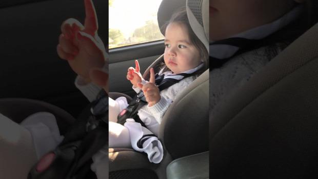 kislány autó zene ritmus Bruno Mars