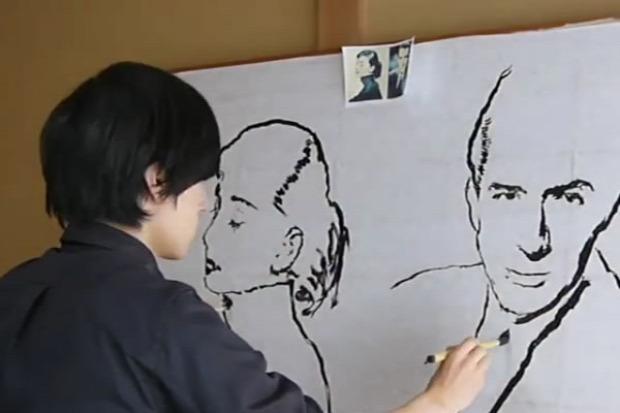 festő portré kettő