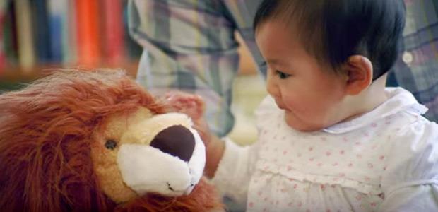 oroszlán kutya gyerek fél