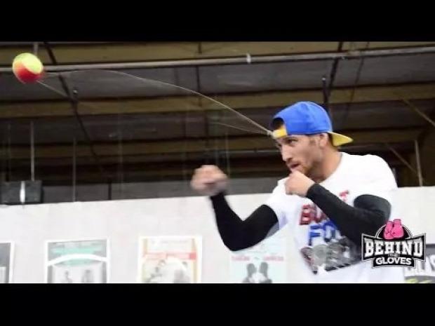 bokszoló edzés Vaszilij Lomacsenko