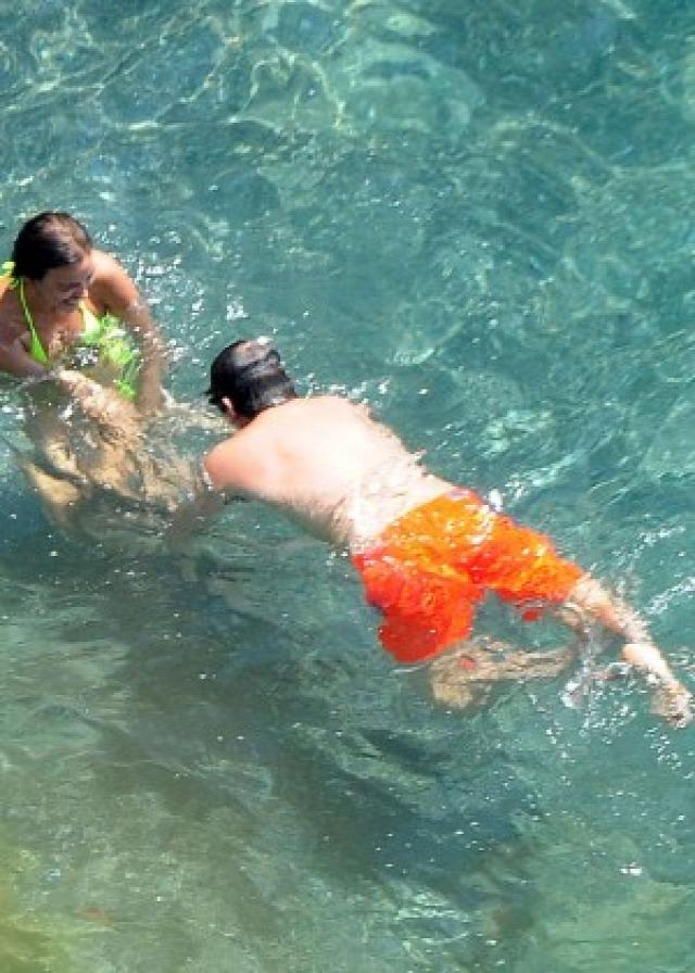 Irina Shayk in Yellow Bikini -11