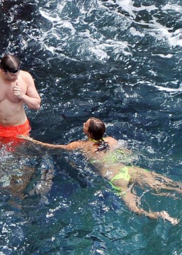 Irina Shayk in Yellow Bikini -13