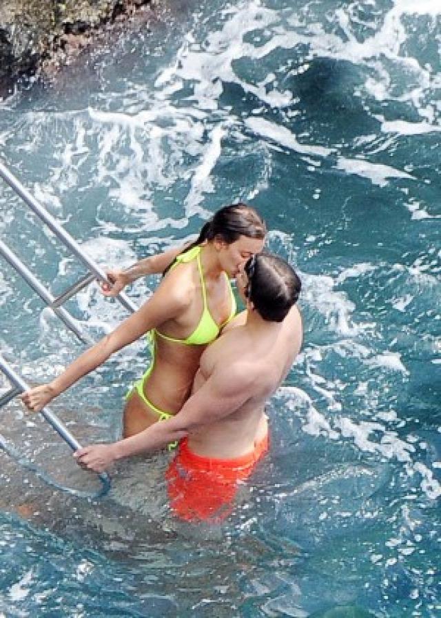 Irina Shayk in Yellow Bikini -47