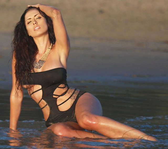Charissa Littlejohn in Black Bikini: 138 Water -01