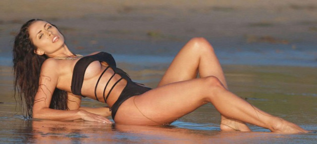 Charissa Littlejohn in Black Bikini: 138 Water -02