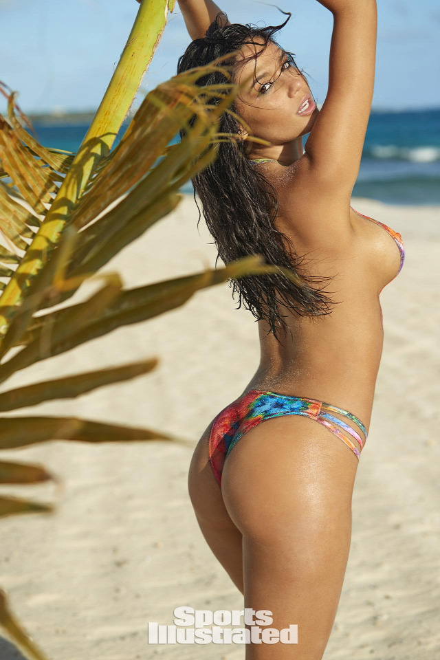 Anne de Paula Sports Illustrated testfestés